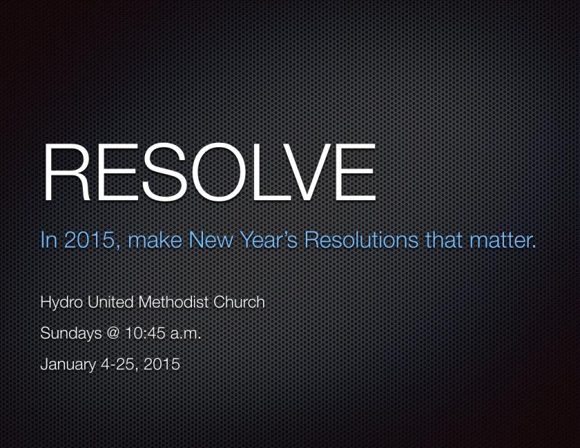 Resolve - January 2015.001